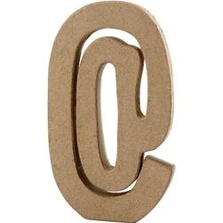 Litera z papier mache 20,5x2,5 cm - @ - @