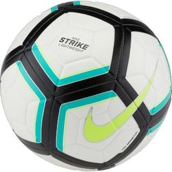 Piłka nożna nike strike team 350g sc3126-100 biało-turkusowo-czarna