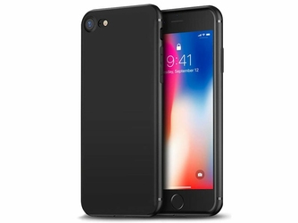 Etui silikonowe Alogy slim case do Apple iPhone 66S Plus czarne + Szkło