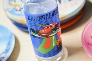 Luminarc disney szklanka wysoka 300 ml auta 2