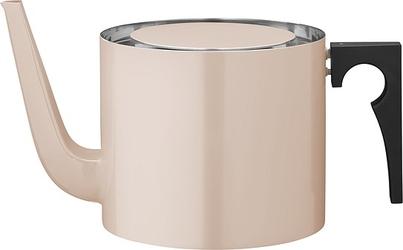 Dzbanek na herbatę aj cylinda line emaliowany różowy