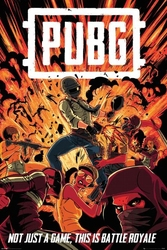 Pubg boom - plakat gamingowy
