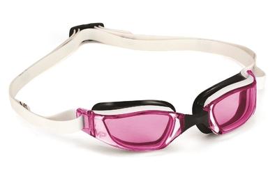 Aquasphere okulary xceed różowe szkła, white-black