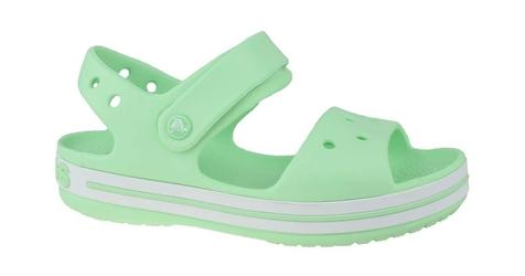 Crocs crocband sandal kids 12856-3ti 2021 zielony