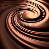 Obraz na płótnie canvas dwuczęściowy dyptyk streszczenie tło wirowa czekolada