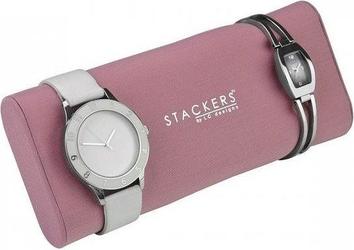 Poduszka na zegarki stackers różowa