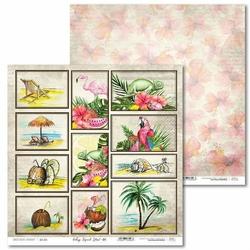 Ozdobny papier Vintage Tropical Island 30,5x30,5 cm - 01 - 01