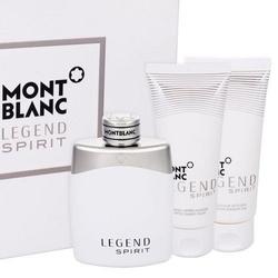 Zestaw mont blanc legend spirit perfumy męskie - woda toaletowa 100ml + balsam po goleniu 100ml + żel pod prysznic 100ml