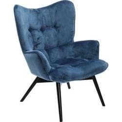 Kare design :: fotel vicky petrol velvet