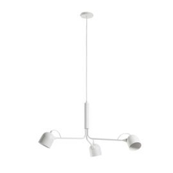Lampa wisząca caleto biała