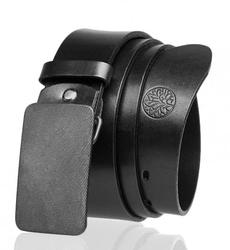 Pasek skórzany betlewski lic40-pk-3 pełna klamra w pudełku - czarny