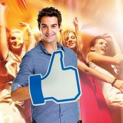Facebookowa łapa - lubię to