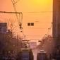 Słońce - plakat premium wymiar do wyboru: 50x70 cm