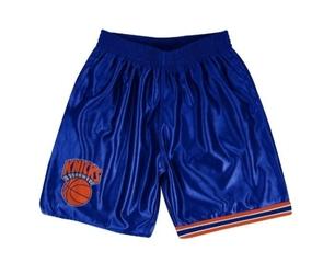 Spodenki mitchell  ness new york knicks nba dazzle shorts - shordf18016-nykroya1 - new york knicks