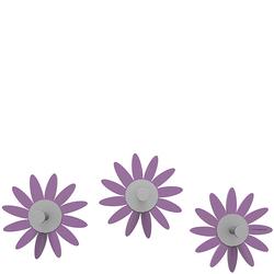 Wieszaki ścienne Maya CalleaDesign fioletowe 13-011-73