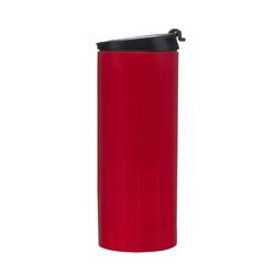 Sagaform - to go - kubek samochodowy,350 ml czerwony - czerwony