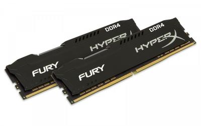 HyperX DDR4 Fury 16GB28GB 2933 CL17 1Rx8 Czarny