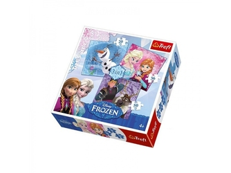 KRAINA LODU puzzle 3w1