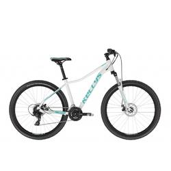Rower górski kellys vanity 30 26 2021, kolor biały-zielony, rozmiar s, rozmiar koła 26