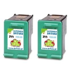 Tusze zamienniki 344 do hp c9505ee kolorowe dwupak - darmowa dostawa w 24h
