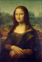 Reprodukcja the mona lisa or la gioconda, leonardo da vinci