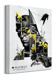 Batman 80th anniversary - obraz na płótnie