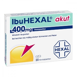 Ibuhexal akut 400 tabletki powlekane