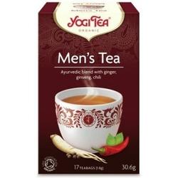 Herbata dla mężczyzn mens tea 17 torebek, yogi tea bio
