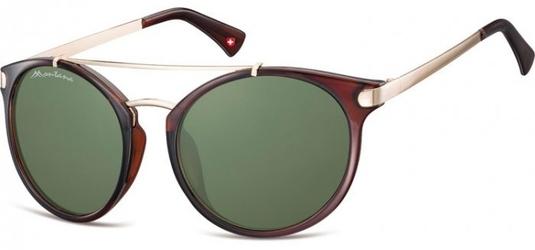 Muchy okulary przeciwsłoneczne montana s18b brązowe
