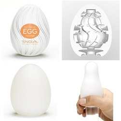 Tenga masturbator - jajko egg twister 6 sztuk