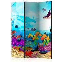 Parawan 3-częściowy - podwodna zabawa room dividers