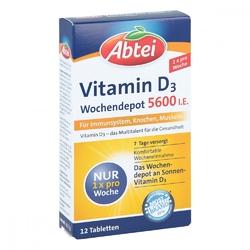 Abtei witamina d3 5.600 tabletki