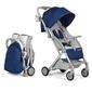 Wózek spacerowy kinderkraft pilot blue + folia + ocieplacz