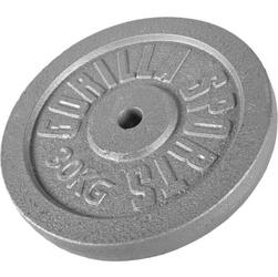 30 kg obciążenie żeliwne talerz na sztangę 30 mm gorilla sports