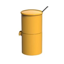 Zestaw do cukru i mleka żółty Bond Loveramics
