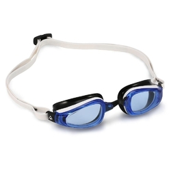 Aquasphere okulary k180 niebieskie szkła biały-czarny