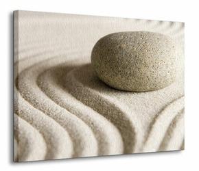 Wzory na piasku III - Obraz na płótnie