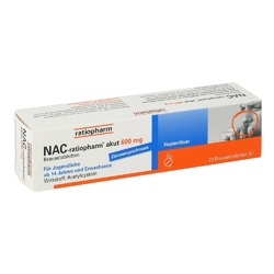 Nac ratiopharm akut 600 mg hustenloeser br.tabl.