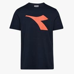 Koszulka męska diadora ss t-shirt logo - granatowy