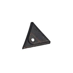 Czarna skórzana bilonówka coin wallet brodrene cw01