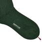 Zielone bawełniane skarpetki męskie bresciani s 39-40