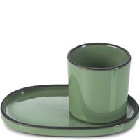 Spodek do filiżanki do espresso caractere revol miętowy rv-652767-4