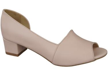 Obuwie damskie sandały róż pudrowy skóra naturalna 147 elitabut - róż pudrowy