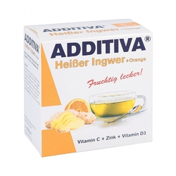 Additiva gorący imbir+pomarańcza proszek