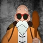 Dragon ball - master roshi - plakat wymiar do wyboru: 60x80 cm