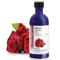Macrovita olejek różany w naturalnych olejach tłoczony na zimno z witaminą e 100ml