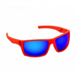 Neon jet orange fluoblue