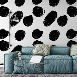 Tapeta na ścianę - dotty giant , rodzaj - tapeta flizelinowa