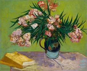Oleanders, vincent van gogh - plakat wymiar do wyboru: 70x50 cm