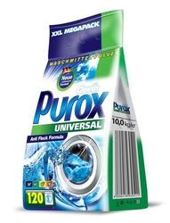 Purox uniwersal, uniwersalny proszek do prania, folia 10kg, 120 prań